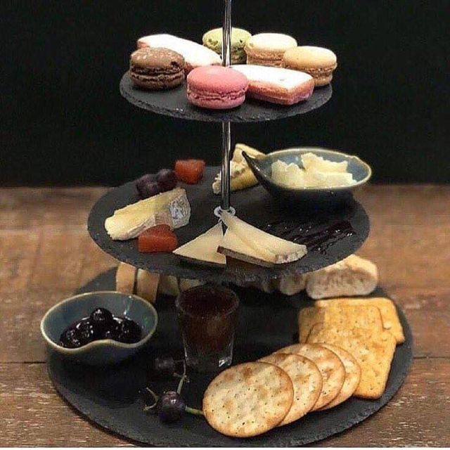 Afternoon Tea at Champagne + Fromage - Brixton, London