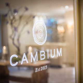 A photo of Cambium Restaurant at Careys Manor restaurant