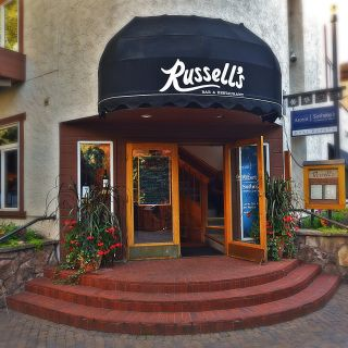 A photo of Russell's restaurant