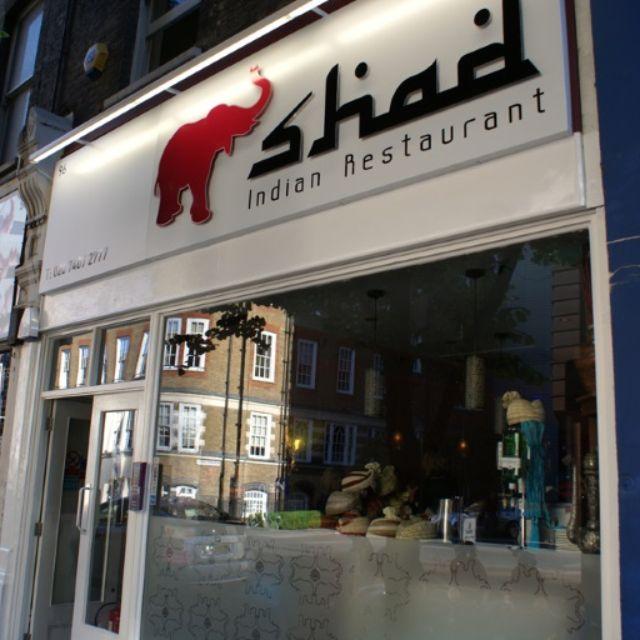 Shad Indian Restaurant, London