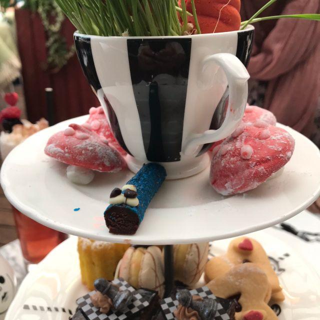 Mad Hatter's Tea at Sanderson, London