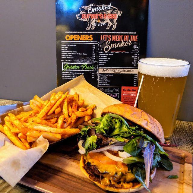 Smoked Burgers & BBQ, Las Vegas, NV