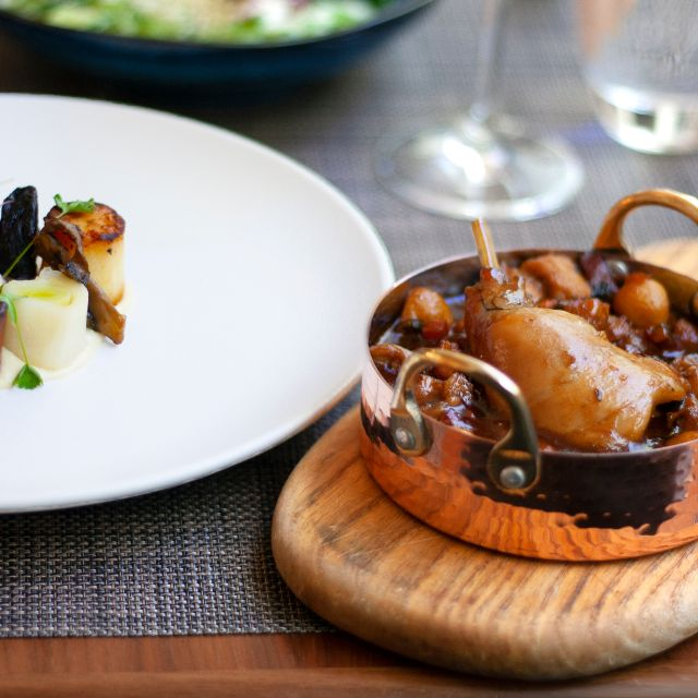 Blue Boar Restaurant- Wild Rabbit Stew - Blue Boar, London