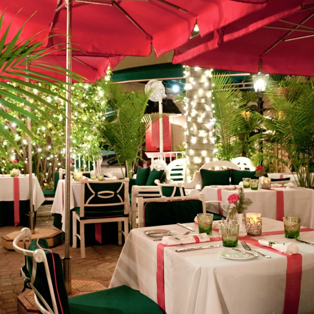 The Leopard Lounge and Restaurant - The Chesterfield Hotel, Palm Beach, FL
