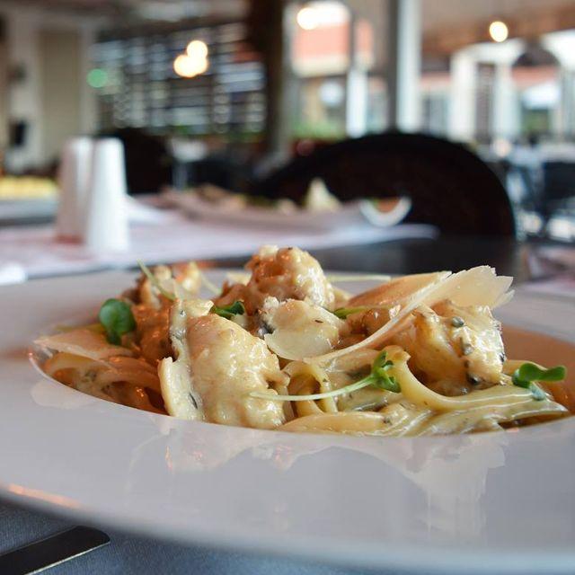 Truffle Linguini With Rock Lobster - Chicken & Lobster Aruba, Noord, Aruba