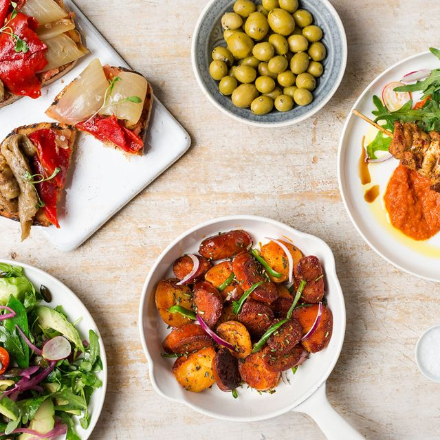Tapas-spread - Camino Bankside, London