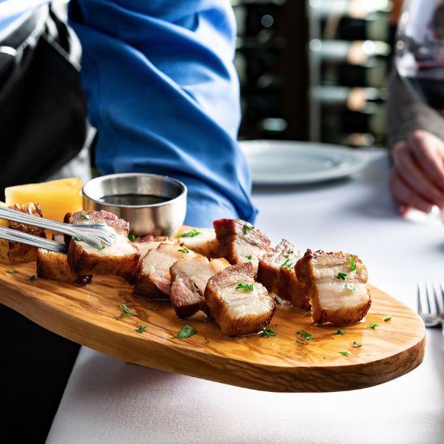 Pork Belly & Pineapple - Fogo de Chao Brazilian Steakhouse - Atlanta, Atlanta, GA
