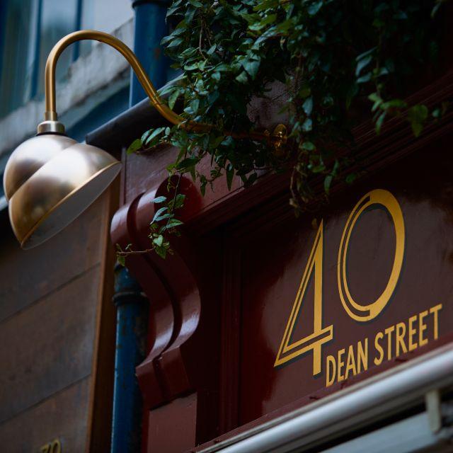 Forty Dean Street, London