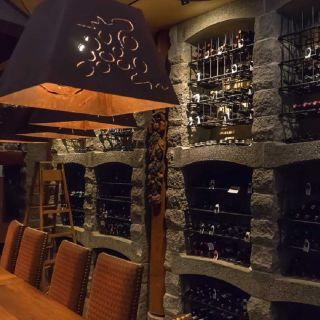 A photo of Chef's Table in the Wine Cellar at Sun Mountain Lodge restaurant