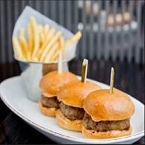 Wagyu Beef Slider with Parmesan  - May Fair Bar, London