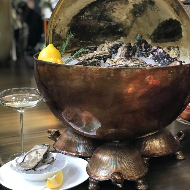 Oysters - Swans Bar at Maison Assouline, London