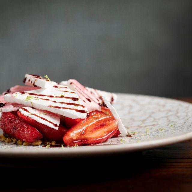 No Strawberry Dessert - No. 5 Social, London