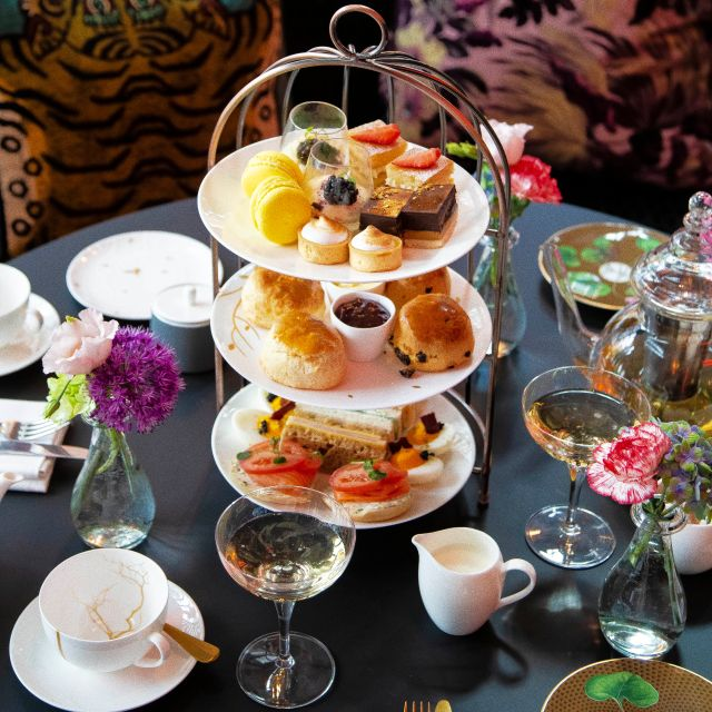 Afternoon Tea in the Green Room, London
