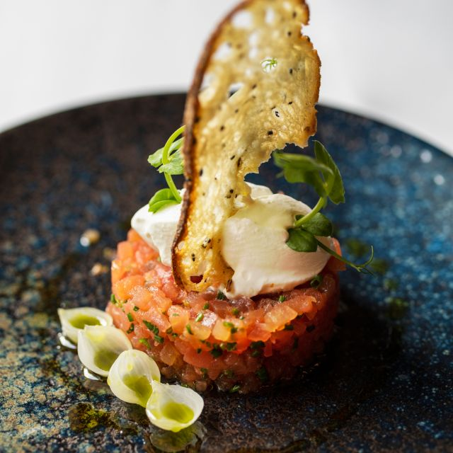 Tomato Tartare - The Montagu Kitchen at Hyatt Regency London - The Churchill, London