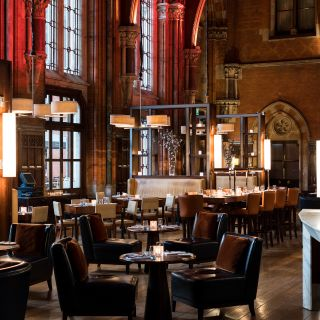 A photo of The Booking Office Bar and Restaurant - St. Pancras Renaissance Hotel restaurant