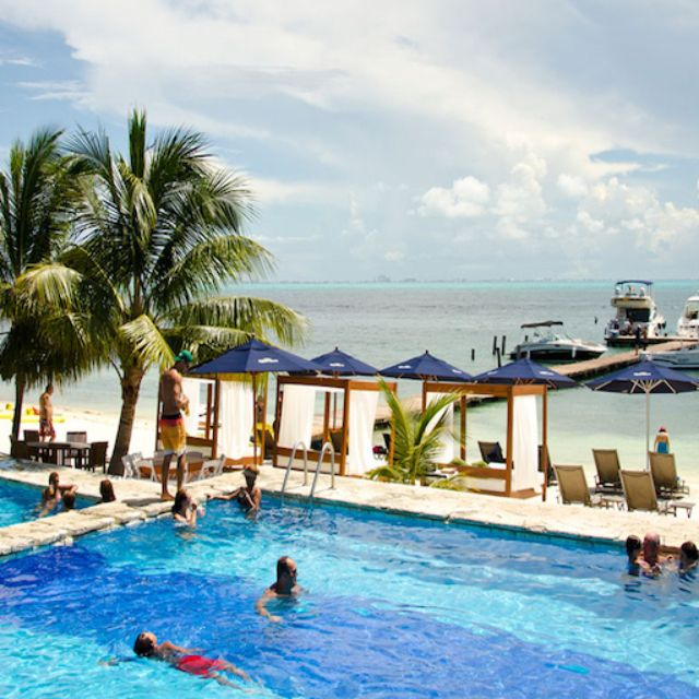 Zama Pool - Zama Beach Club, Isla Mujeres, ROO