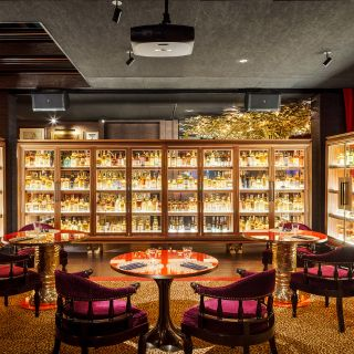 A photo of The Whiskey Library @ The Vagabond Club restaurant
