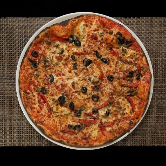 Artichoke Pizza - Novapizza Vegetarian Kitchen, Edinburgh