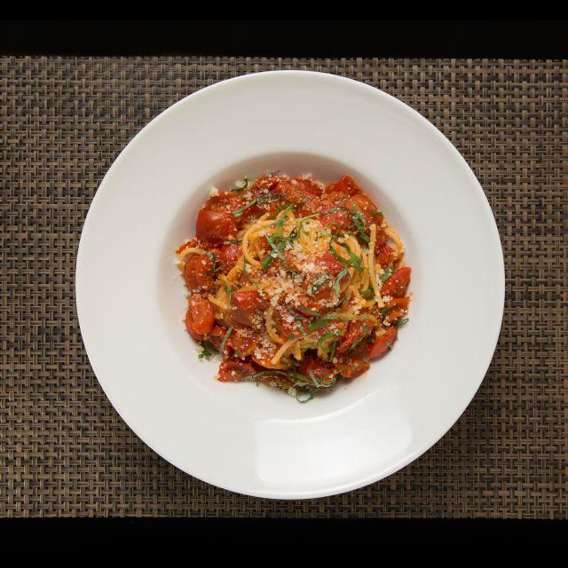 Tomato Spaguetti - Novapizza Vegetarian Kitchen, Edinburgh