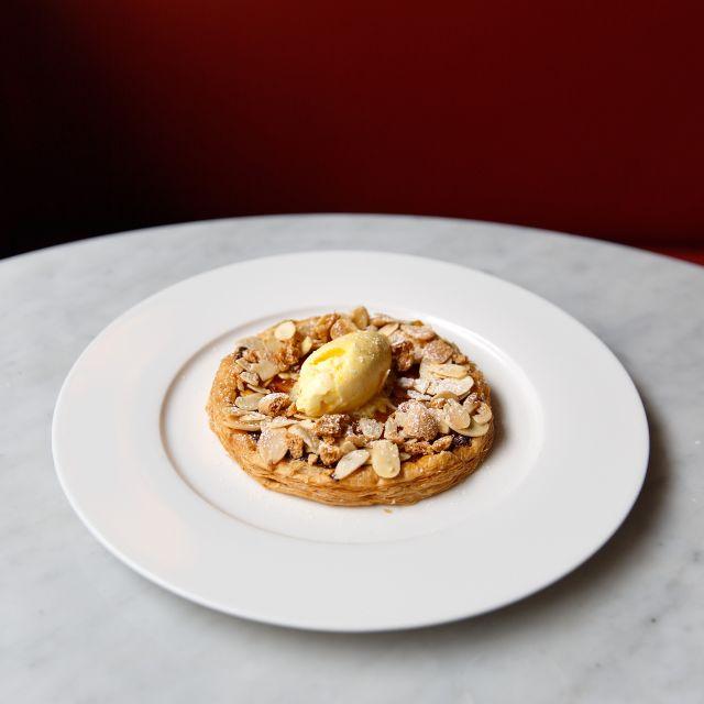 Photoshoot Jns May Apricot Tart  Dpi - 108 Brasserie, London