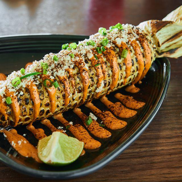 Grilled Sweet Corn  - SOL Mexican Cocina - Newport Beach, Newport Beach, CA