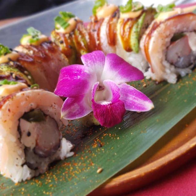Sky Bar Steak & Sushi, Galveston, TX
