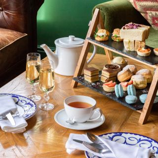 Foto von Afternoon Tea at Burley Manor Restaurant