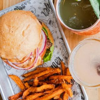 A photo of Bareburger - Rye restaurant