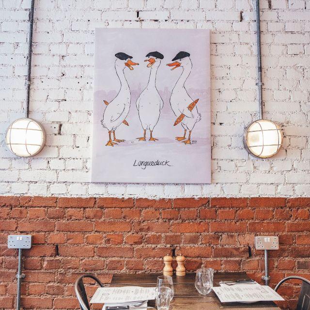 H - Monsieur Le Duck, London