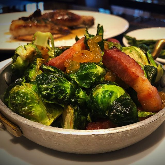Brussel Sprouts - Lincoln Steakhouse and Bar 1936 - JW Marriott Camelback Inn, Paradise Valley, AZ