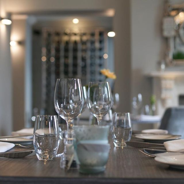 The Dining Room at Poets House, Ely, Cambridgeshire