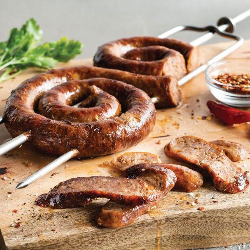 Linguica Sausage - Fogo de Chao Brazilian Steakhouse - Boston, Boston, MA