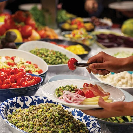 Market Table - Fogo de Chao Brazilian Steakhouse - New York, New York, NY