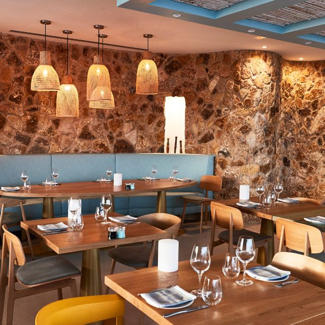 P Dining Cone-club - Cone Club @ 7 Pines Resort, Sant Josep de sa Talaia, Ibiza