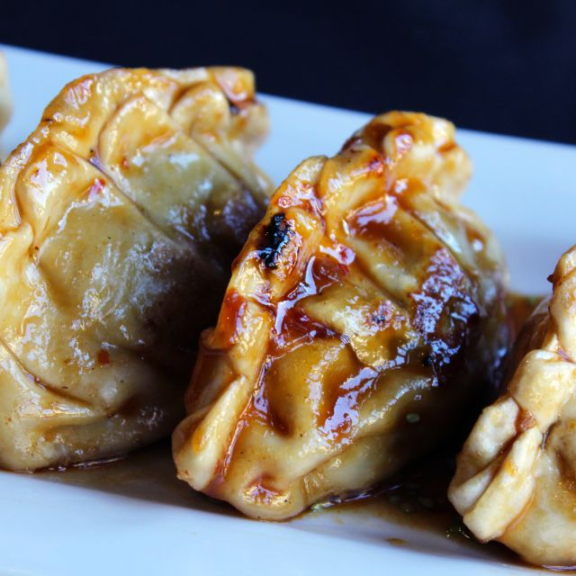 Potstickers - bd's Mongolian Grill - Ann Arbor, Ann Arbor, MI