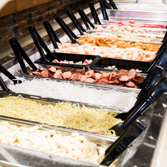 Create Your Own Stir Fry Fresh Bar - bd's Mongolian Grill - Canton, Canton, MI