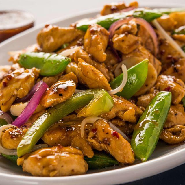 Kung Pao Chicken - bd's Mongolian Grill - Royal Oak, Royal Oak, MI