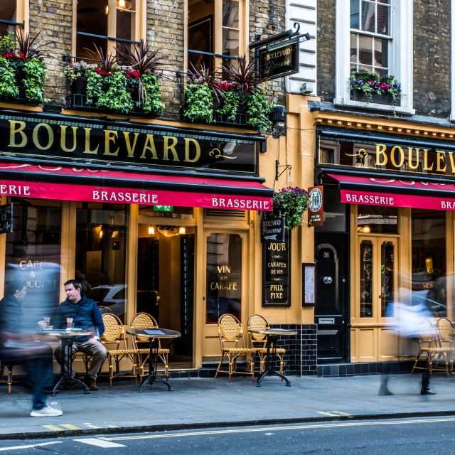 Covent Garden- - Boulevard Brasserie, London
