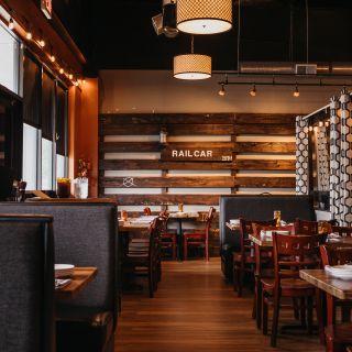 A photo of Railcar Modern American Kitchen restaurant