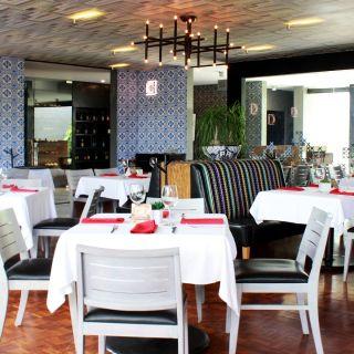 A photo of Aromas restaurant