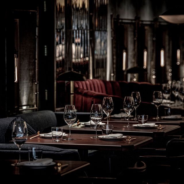 Lucky Cat - Tables And Glass Ware - Lucky Cat by Gordon Ramsay, London