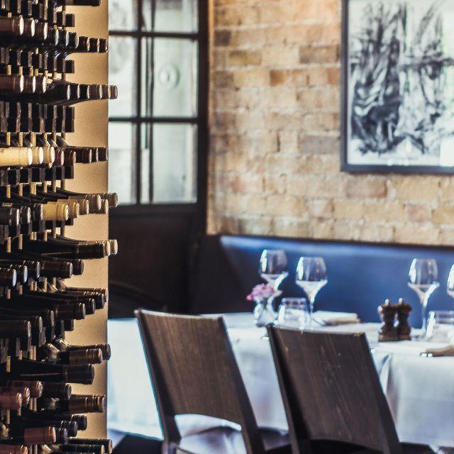 Wine Rack - The Oak Bistro, Cambridge, Cambridgeshire