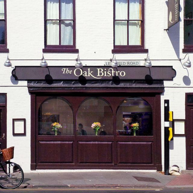Front - The Oak Bistro, Cambridge, Cambridgeshire