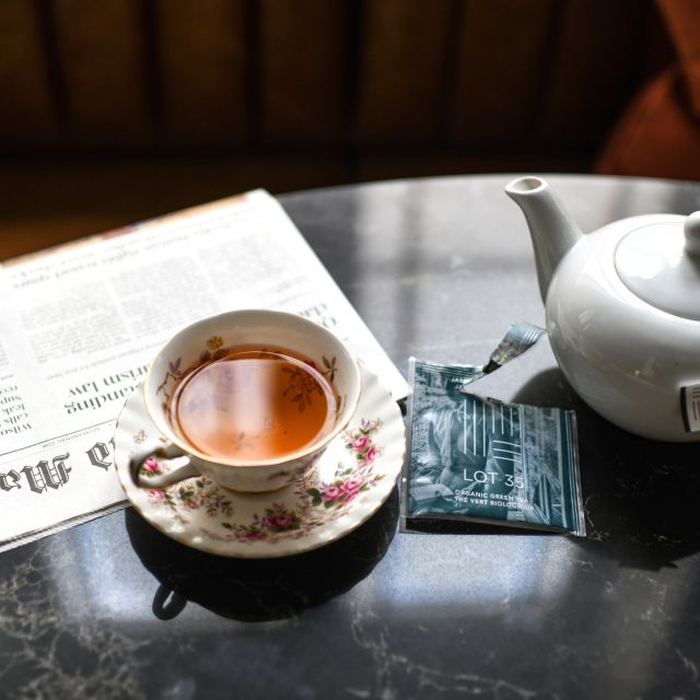 Afternoon Tea at The Fairmont Palliser, Calgary, AB