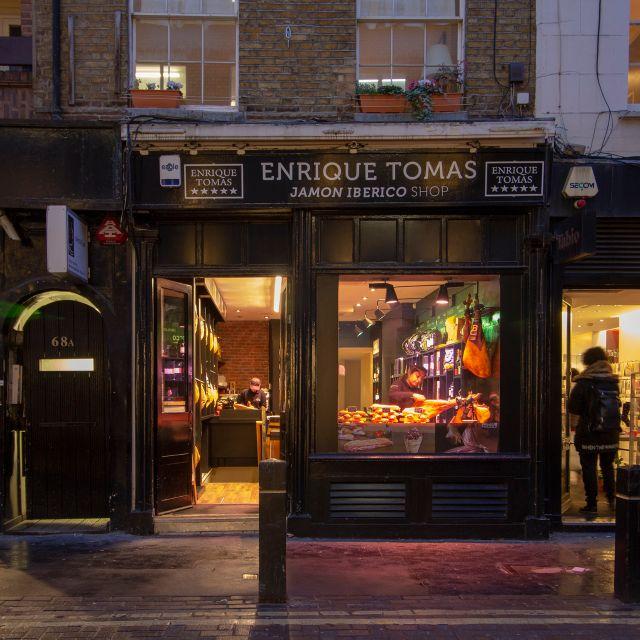 Enrique Tomas Soho, London