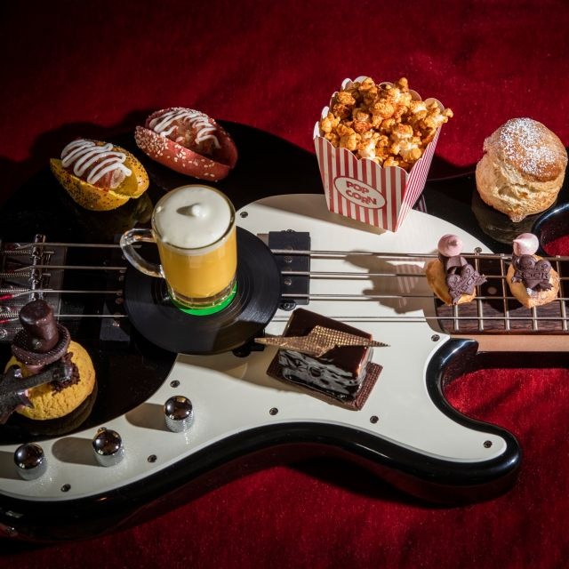 Rock 'n' Roll Afternoon Tea - Afternoon Tea at The Gore, London
