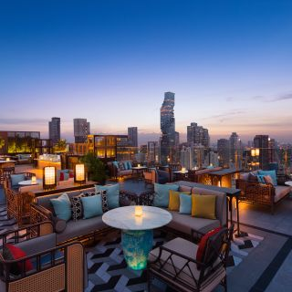 A photo of Yao Rooftop Bar - Bangkok Marriott Hotel The Surawongse restaurant