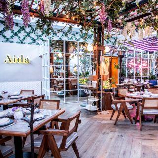 Una foto del restaurante Aida