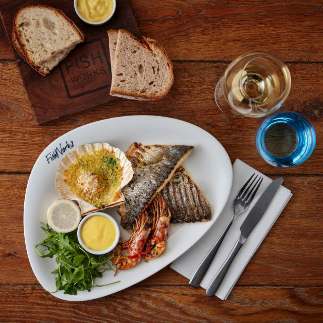 Mixed Seafood Grill - Fishworks - Marylebone, London
