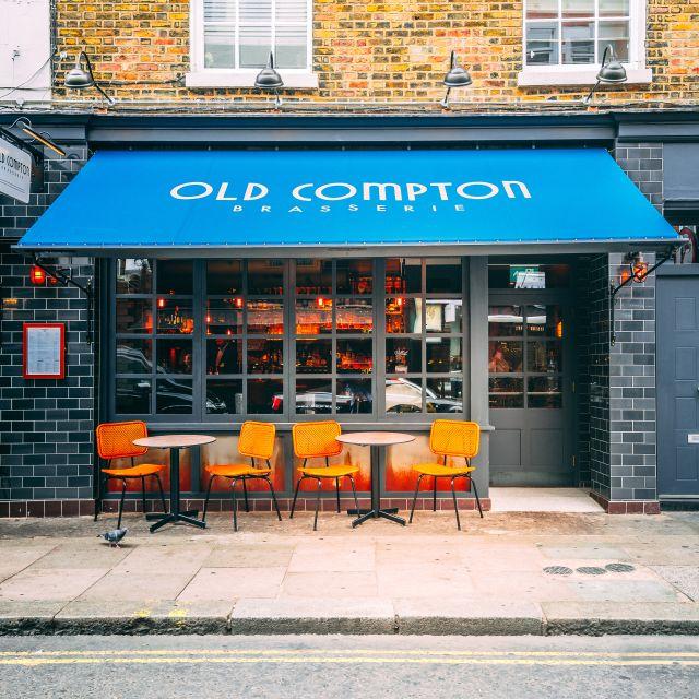 Dp Ocb Exterior & Detail C- - Old Compton Brasserie, London
